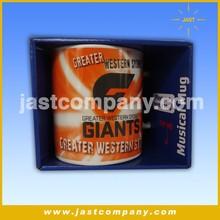 Popular Basketball Team Logo Popular Ceramic Mug Music Theme Gifts