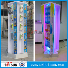 acrylic cellphone accessories counter display case for USB or mobile phone shell