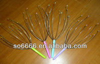 Head Massager for sex,Metal Handle with Wood Ball