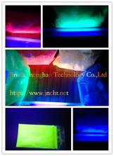 ultravioleta polvo de pigmento fluorescente/pigmento de seguridad invisible/Fluorescente con UV onda pigmento en polvo/pigmento