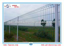Anti-corrosion triangle curved fence netting for residential area with peach-type post