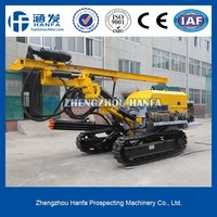 high efficient, simple operate HF140Y quarry drilling equipment