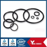 Factory supplied round flat o-ring/ rubber o-ring flat washer/8*1.5mm viton o-ring seals