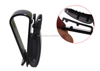 Black Plastic Car Sunglasses Holder
