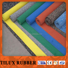 outdoor use rubber flooring with best price from factory with rubber mats
