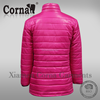 Best quality china factory windproof custom color women down jacket
