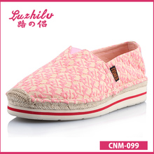 pata de gallo luzhilv textil superior de zapatos de lona
