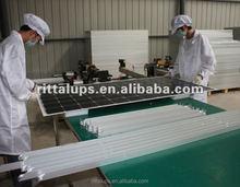 12v 30w 50w 100w 24v 150w 200w 300w solar panel making machine of sun power solar panel