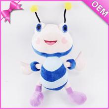Plush Animal Manufacturer Cartoon bee plush stuffed toys