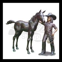 High quality bonze artist works horse statue