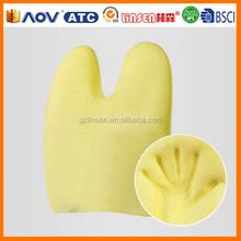 Professional factory cheap memory foam satin ribbon cushions