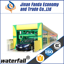 CHINA FD fully automatic tunnel car wash and car wash equipment system