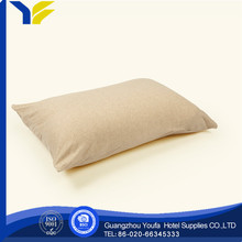 hot sale polyester/cotton convert travel pillow 2 in 1