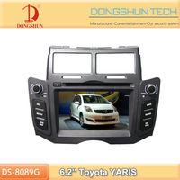 Toyota YARIS 6.2 inch 2din car stereo