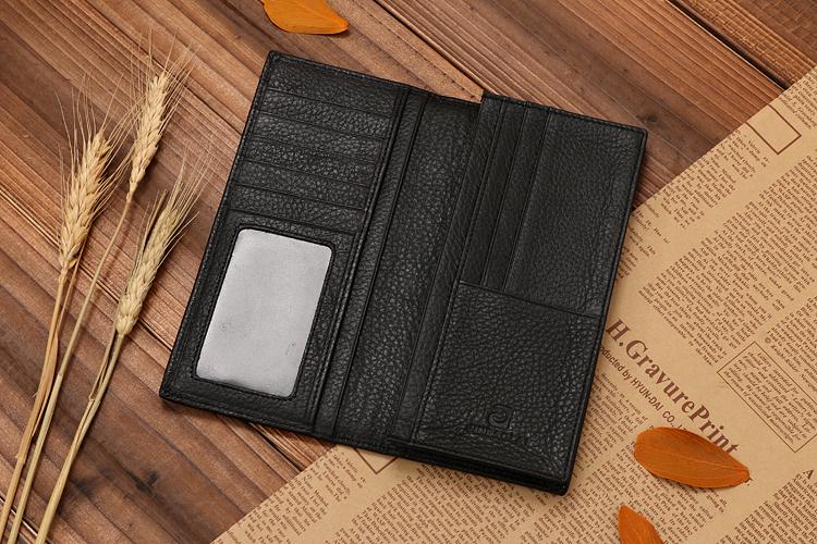 hot vente marque nom jinbaolai v ritable peau de vache portefeuille en cuir portefeuille id de. Black Bedroom Furniture Sets. Home Design Ideas