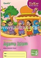Buku Kerja Agama Islam SD 1 KTSP Book