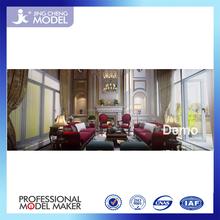 3D max interior design perspective, modern home design
