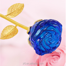 selling like a cake crystal rose flower for items