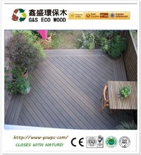 Good price wpc decking /hollow decking for India project