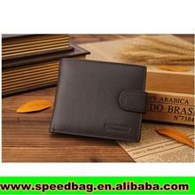 2015 Hot design genuine leather wallet men's wallet leather wallet R97
