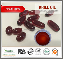 Top quality GMP Krill oil Wholesale, Natural Pure Krill oil capsules