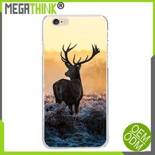 Custom Printing case for iPhone 6s 5s 4s PC TPU mobile phone Painted cover with unique pattern Deere design