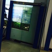 Semi automatic sliding door mechanism