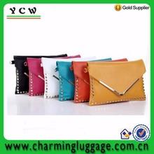 Women tote shoulder messenger bag ladies PU Leather envelope clutch bag