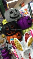 decorative resin high quality Halloween pumpkin with LED light