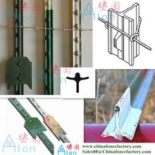 metal studded t bar removable metal fencing posts