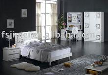 Modern high gloss kids bedroom furniture
