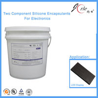 addition type double component silicone potting sealant