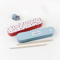 LANGUO fashion partysu style double layers pencil boxes/pencil case 2014 Model:LGXQ-2081