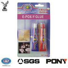 Strongest EPOXY STEEL 4 MINUTE AB Glue For Repair