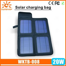 2015 hot new electronic items 2015 hot new products handy solar bag for mobile phone