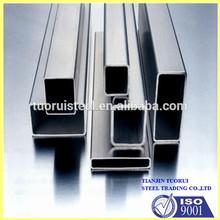 Buen proveedor cuadrado tubos soldados de acero inoxidable
