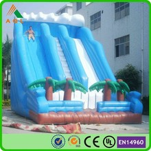 commercial inflatable slip and slide/giant inflatable water slide trippo slide
