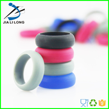 Custom silicone boys finger rings young boy ring