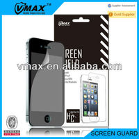 Cell Phone accessories waterproof Screen Protector for iphone 4/4s