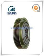 Auto motor air condition compressor pulleys zinc coat