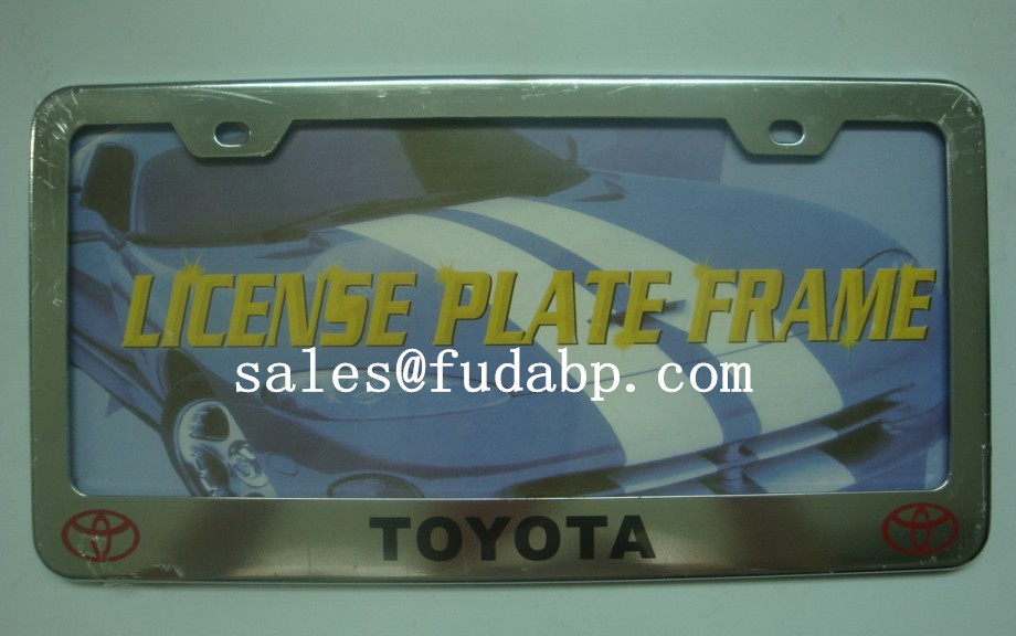 European License Plate Frames,car license plate cover,plastic chrome plate frames