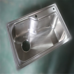 Most Popular Design Huzhou Jiashi 304 Stainless Steel Kitchen Sink With Irregular Shape And Easy Installment