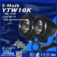 Top quality waterproof Muti-function LED motorcycle head lamp 12 volt led lights motorcycles for Yamaha