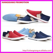 Fashion Slip On Espadrilles Men Rubber Vulcanized Shoes Canvas Casual Shoes Made In China