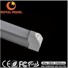 warm white/ pure white/ cool white ip33 Integration T8 LED Tube 2400mm