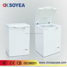 BD-100 2015 Newest beautiful white small energy saving chest freezer 100L 12v chest freezer