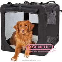 Portable Fabric Folding Pet crate Carrier