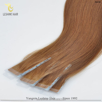 Hot Selling Top Quality Soft And Strong Tape Remy Human Hair hair extension outlet