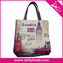 London Canvas nostalgic style Grey hand bags