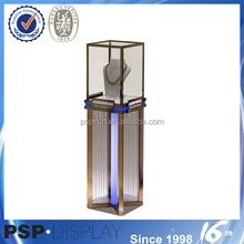 Stainless Steel Display Cabinet And Showcase For Jewelry Shop